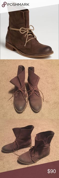 Steve Madden Soluri Boots 100% authentic, in great condition, leather upper, small amount of wear on the toe Steve Madden Shoes Ankle Boots & Booties