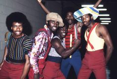 Soul Train dancers in July 1973 in Los Angeles, California