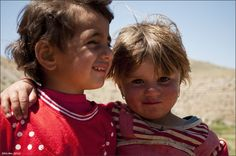 Kurdish Nomad Kids near the Iran-Iraq Border.