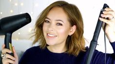 How I Style My Short Hair | Tanya Burr - YouTube