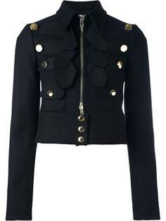 chaqueta corta estilo militar Chaquetas Cortas 0acc45ac1d0a