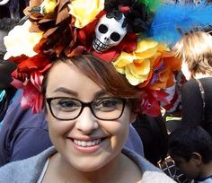 Sara bought this beautiful headpiece for $40 at Olvera Street in Los Angeles, CA.