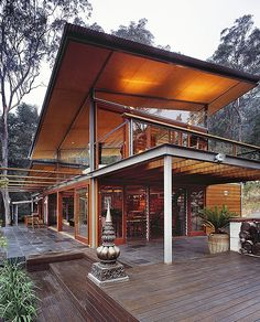The Bowen Mountain House by CplusC Architecture | HomeDSGN, a daily source for inspiration and fresh ideas on interior design and home decoration.