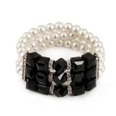 Cheap! New Design 2015 Fashion Crystal Pearl Multilayer Bracelets Punk Women Jewelry Factory Price N074 - http://www.aliexpress.com/item/Cheap-New-Design-2015-Fashion-Crystal-Pearl-Multilayer-Bracelets-Punk-Women-Jewelry-Factory-Price-N074/1867307292.html