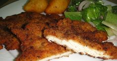 Escalope Milanese is a fillet of meat, be it beef, veal, turkey,or chicken, pounded, breaded then fried.  I have added extra flavorings ...
