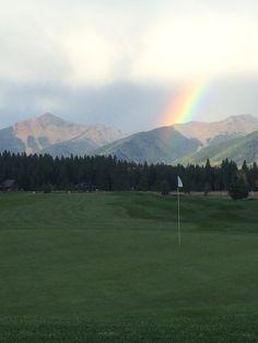 Double Arrow Golf Course, Seeley Lake, Montana