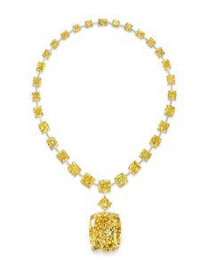 The Golden Empress yellow diamond by Graff | Vogue Paris
