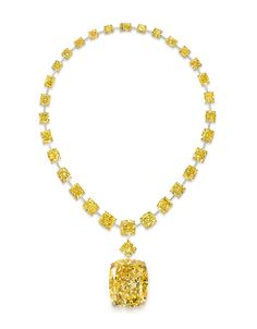 Le collier diamant jaune de Graff