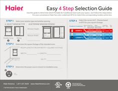 Find the right window unit for your room with this step-by-step guide from Haier