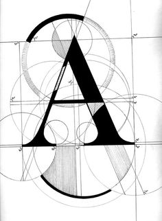 moodboardnyc:A by Andrew Kuypers via by9tumblr.com #typography