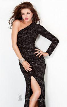 single sleeve evening gown jovani prom Jovani 48461 Dress