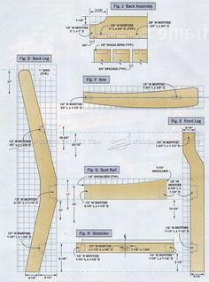 Garden Chair Plans - Outdoor Furniture Plans