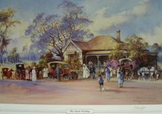 adawnstyle likes this Australian Painting, Australian Artists, Landscape Art, Landscape Paintings, Bush Wedding, Pen And Wash, Famous Artists, Painting Techniques, Love Art