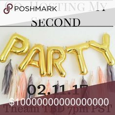 💕Co-Hosting My 2nd Posh Party💕 Hello all my amazing PFFs I'm Super Excited to announce I'll be co-hosting my 2nd Posh Party & You're Invited 💕✨💕Please help spread the word 💕 Can't wait! Thank you in advance for all your love & support 💕✨💕✨ ✨I'm Hosting a Party & You're Invited✨ ✨Time 7pm PST // 10pm EST ✨Theme: TBD  ✨I'll be looking for posh compliant closets ✨Gorgeous Cover Shots  Let's party! 🎉  Xoxo, Rachel Other
