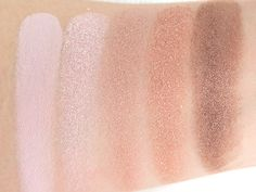 Swatches (L-R) Strawberry Macaroon, Smell Of Roses, Romantic Comedy, Girl Talk & Flirting Game