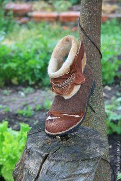 Обувь ручной работы. Ярмарка Мастеров - ручная работа Кантри. Handmade.