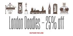 London Doodles™ - Webfont & Desktop font « MyFonts