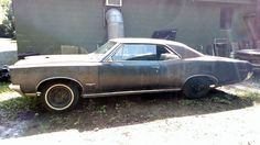 Cheap 1966 Pontiac GTO Project - http://barnfinds.com/cheap-1966-pontiac-gto-project/