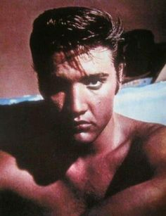 """Elvis exudes the aura of something new and uncontainable/""""Taken in July 1956!"""" Tanja Graf' quote. Grateful"""