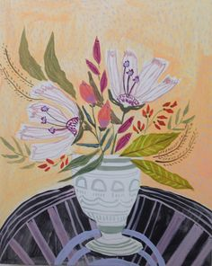 FLOWERS FOR RHODES - 16X20   Lulie Wallace