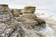 Byrum Raukar, Isle of Öland, Sweden