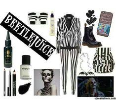 girl beetlejuice costume ideas - Google Search