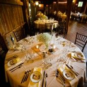 View of a Table From the Balcony:   Autumn 2012 Candace Jeffery Photography Wedding Gallery