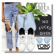"""""""Yoins !!"""" by dianagrigoryan ❤ liked on Polyvore featuring Armani Jeans, Matthew Williamson, yoins, yoinscollection and loveyoins"""