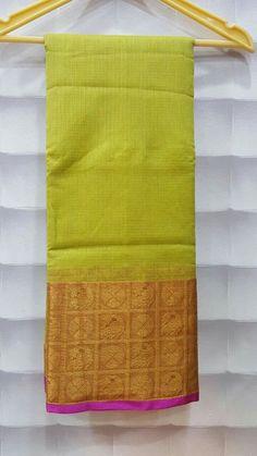 Kora net sarees with designer kaddhi border With plain blouse PRICE:1900+$ Order what'sapp 9573737490