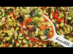 Vegetable Pizza, Pasta Salad, Feel Good, Salsa, Ethnic Recipes, Kitchen, Food, Youtube, Essen