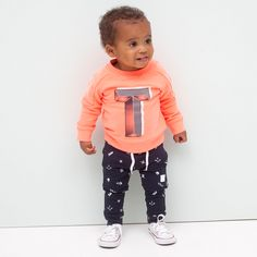 Tumble 'n Dry neon sweater Tumble N Dry, Baby Sweaters, Fashion Kids, Little Boys, Boy Outfits, Look, Baby Boy, Design Inspiration, Clothes