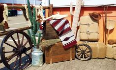 Eventdekoration - Country & Western - Dekoinsel - Firmenevent - Kreativ Punkt - Dekoration & Design - Ich dekoriere Ihr Event! - www.kreativ-punkt.info