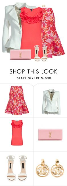 """Easter Outfit"" by daiscat ❤ liked on Polyvore featuring Michael Kors, MANGO, Yves Saint Laurent, Forever New and Chanel"