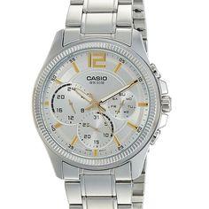 Casio Quartz, Young Fashion, Quartz Watch, Chronograph, Watches For Men, Stuff To Buy, Men's Watches