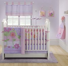 Inspiring Baby Girl Nursery Ideas with Colorful Decoration ...