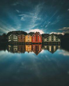Trondheim - Norway  . Via @brotherside . #luxepicture