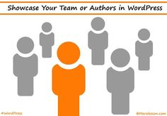 How to Showcase Team or Authors in WordPress What Is Character, Create Page, How To Make Money, Wordpress, Teaching, Logos, Fingerprints, Programming, Authors