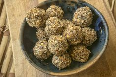 Is it just me, or does it seem that in social media circles balls have supplanted bars when it comes to homemade snack fuel. Unlike avocado toast, this is one trendy kitchen creation I'm happily em…