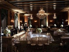 A little dark but like the chandelier  InterContinental Chicago Wedding Hotels Downtown Chicago Wedding Venues Locations 60611