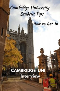 How I Prepared for my Cambridge Interview Oxford Or Cambridge, Cambridge Student, Cambridge University, Oxford Student, Student Interview, Interview Questions And Answers, Student Travel, Student Motivation, Gap Year