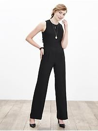 Cross-Back Jumpsuit