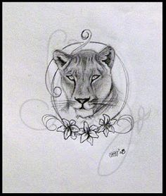 1000+ images about tats on Pinterest | Lioness tattoo ... Queen Lioness Drawing