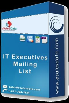 Highly Targeted IT Executives Mailing List