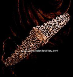 Radha Krishna Diamond Vaddanam | Latest Indian Jewellery Designs