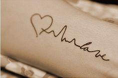 Heartbeat monitor heart and love tattoo! ♥ ❤ ❥