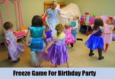 Freeze Game For Birthday Party