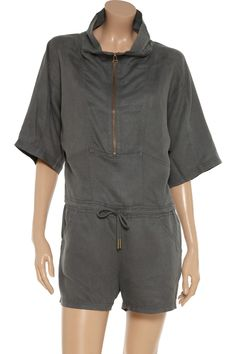 T by Alexander Wang Zip-front playsuit $103.50