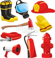 Find Firefighter Elements Set Collection Including Boots stock images in HD and millions of other royalty-free stock photos, illustrations and vectors in the Shutterstock collection. Community Helpers Worksheets, Community Helpers Preschool, Firefighter Boots, Imprimibles Toy Story Gratis, Fireman Sam, Fireman Party, Fire Helmet, Stock Foto, Fire Engine