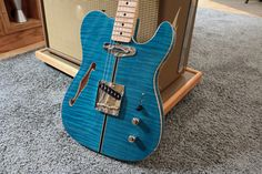 Neville Guitars Blue Vein