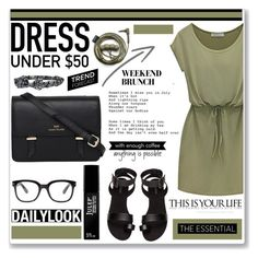 Dress by soks on Polyvore featuring H&M, Sloane, Aéropostale, Forever 21, Julep and polyvoreeditorial